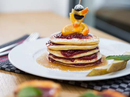Eine gute Zeit - Unsere Pancakes